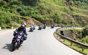 Dụng cụ đi phượt dành cho xe máy