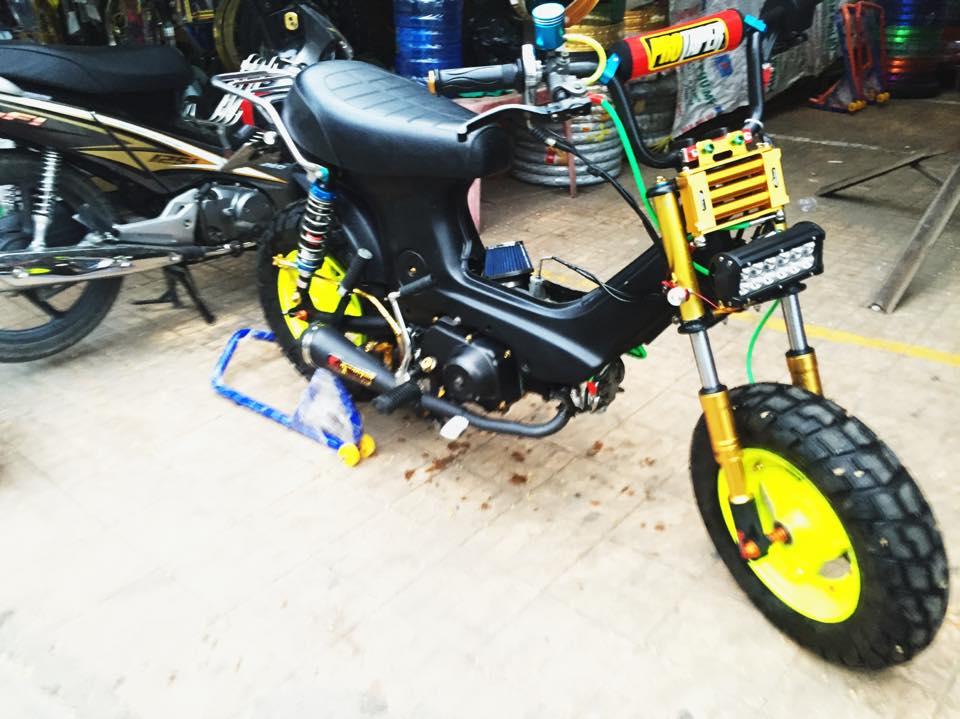 Xe Honda Chaly 50cc cực