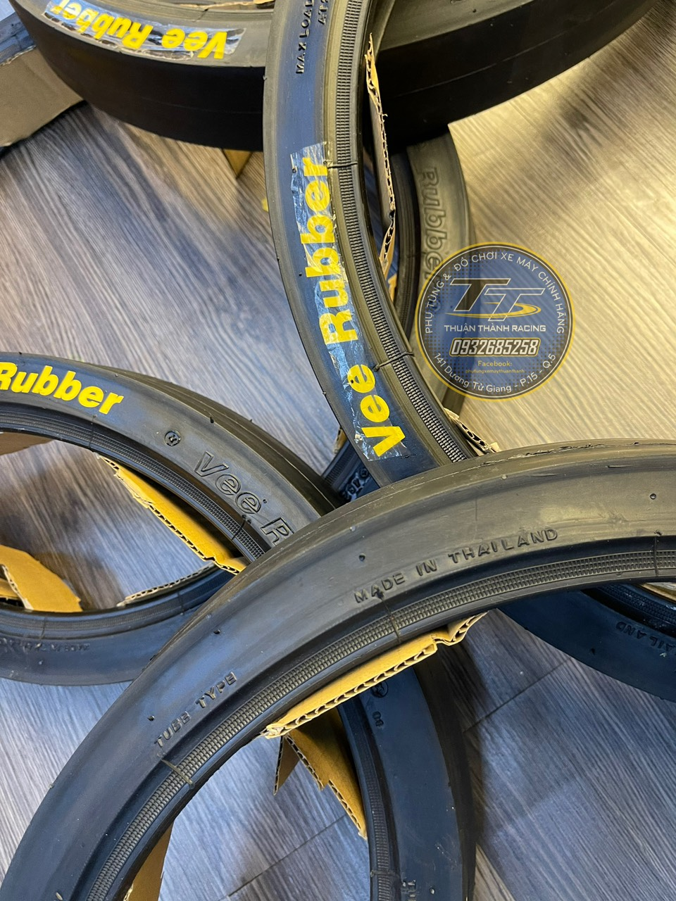 Vỏ xe đua Vee Rubber 60-80/17